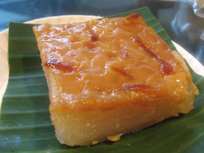 Cassava Cake Recipe With Leche Flan Topping