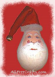 Santa lightbulb