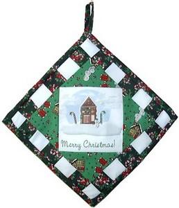 Christmas potholder