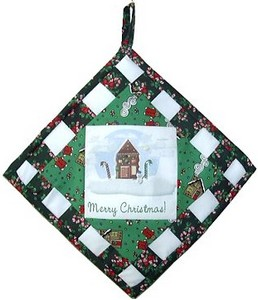 Christmas potholder