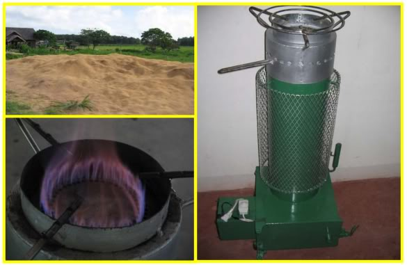 Belonio Rice Husk Gas Stove