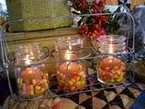 canning jars candles