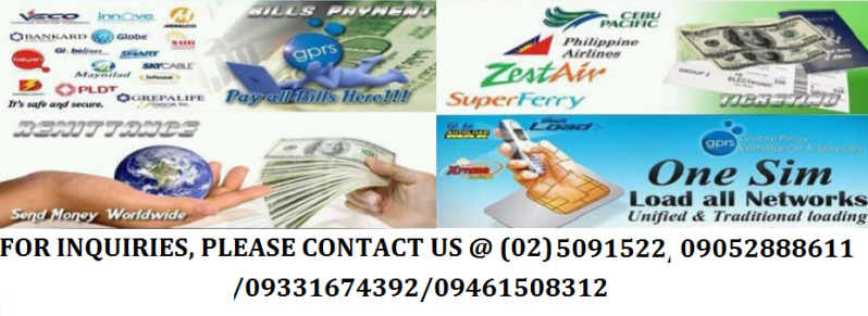 GPRS Ticketing, Eload, Remittance, Bills Payment - Hot & Fast Return Investment Earn 60k/day  1