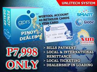 GPRS Ticketing, Eload, Remittance, Bills Payment - Hot & Fast Return Investment Earn 60k/day  3