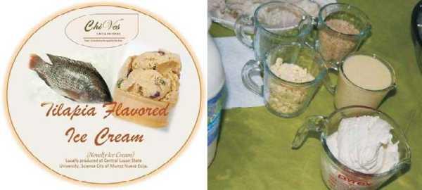 tilapia ice cream