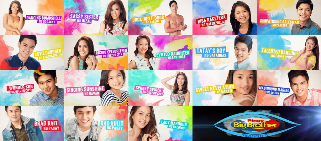Pinoy Big Brother All In Housemates
