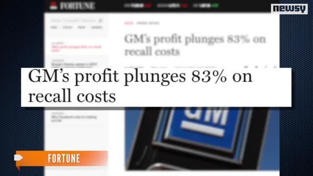 VIDEO: GM Profits Overshadowed By Recalls, Ford Profits 1