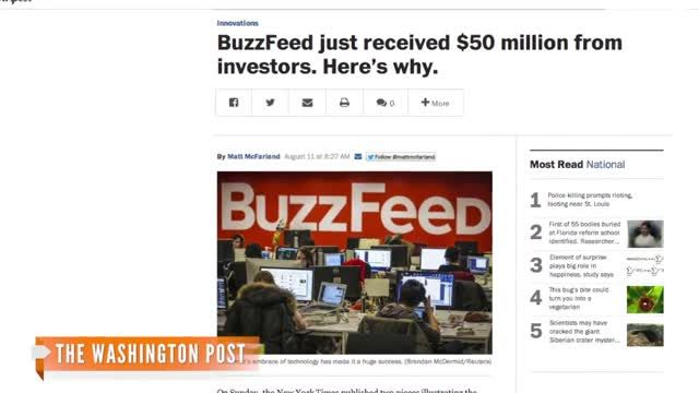 VIDEO: BuzzFeed Bags $50M In Venture Capital: WIN LOL WTF 1