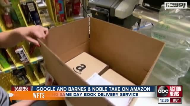 VIDEO: Google Challenging Amazon On Same-Day Book Delivery 1