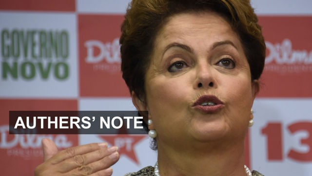 VIDEO: Over to Dilma and Janet 6