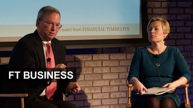 VIDEO: Google's Schmidt on hubris and innovation 8