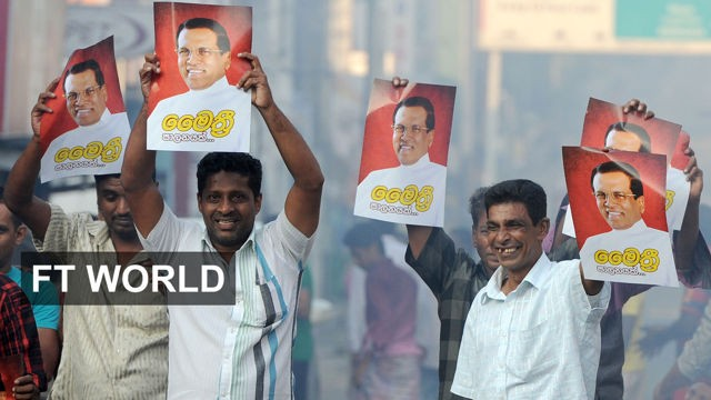 VIDEO: 60 seconds on the Sri Lankan election 2