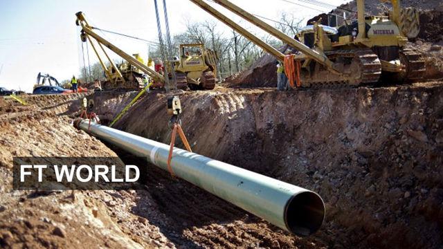 VIDEO: Oil price rattles Keystone pipeline 4