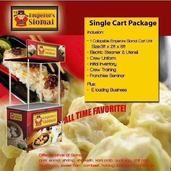 emperor siomai food cart