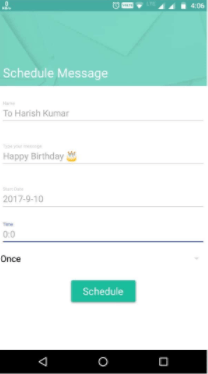 Best way to Schedule whatsapp Messages? 2