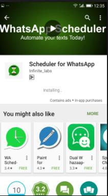 Best way to Schedule whatsapp Messages? 3