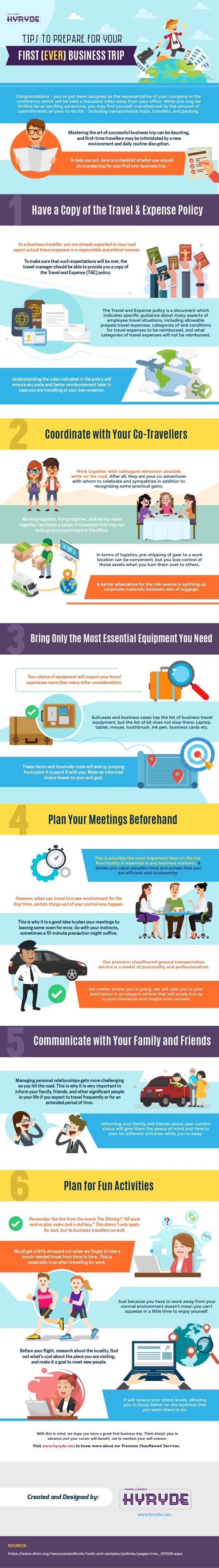 Tips to Prepare for You First Ever Business Trip 1