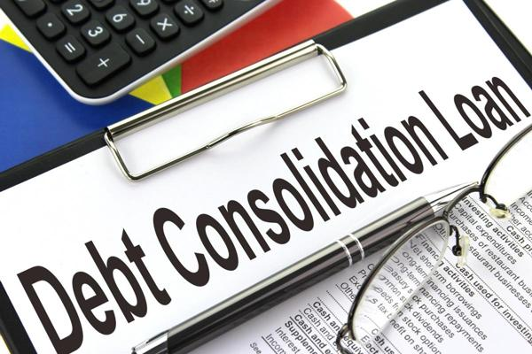 The transmission of debts into a consolidated form for payment through debt consolidation loan 1