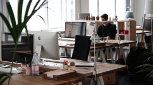 home-based job office space