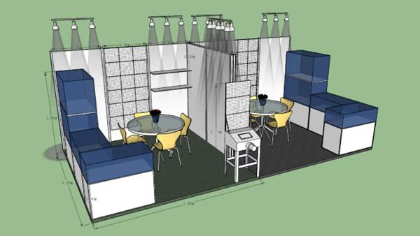 4 Steps to Planning Your Exhibition Booth 1