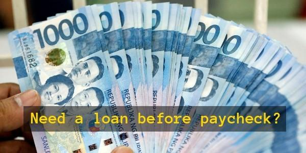 Need a loan before paycheck? Learn how to get a salary loan 1