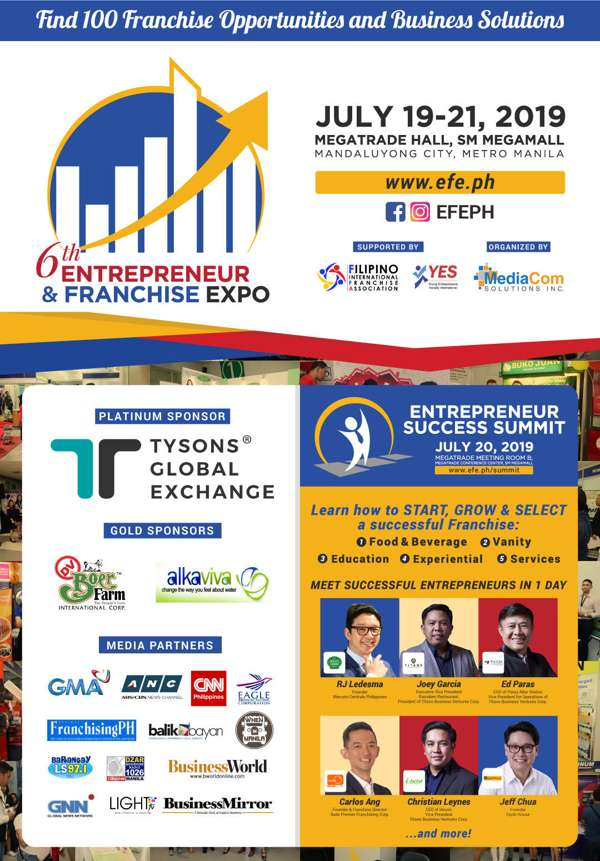 entrepreneur and franchise expo