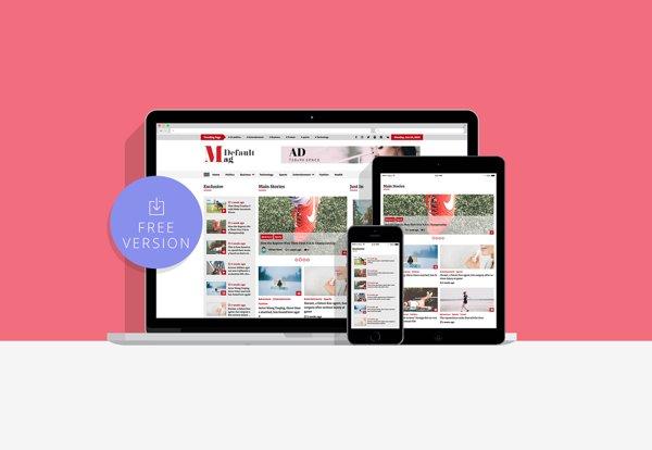 wordpress theme default mag