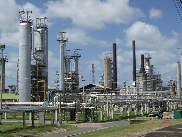 refining fossil fuels