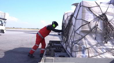 teleport moving cargo