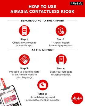 airasia contactless kiosk