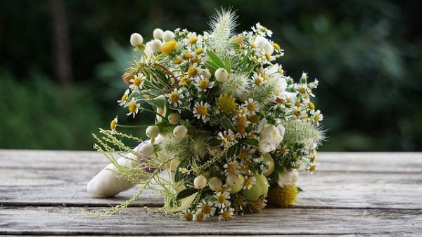 Flowers Wedding Bouquet Love  - Heli2963 / Pixabay