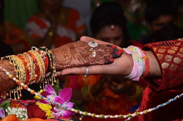 sikh wedding ring, hastmelap, wedding, marriage, indian, hindu, tradition, HD wallpaper