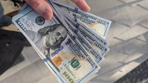 personal loan 100 us dollar bill