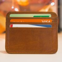 PH credit card industry brown wallet