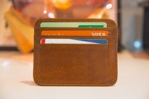 PH credit card industry brown wallet