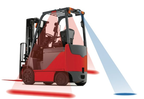 Forklift Blue Lights Ensure Hassle Free Movement 1