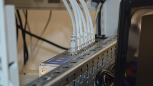 converge ICT close up photography of mining rig