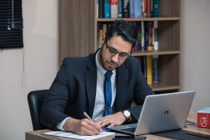 areas of law - lawyer working