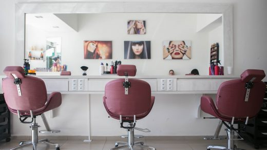 beauty salon photo of saloon interior view