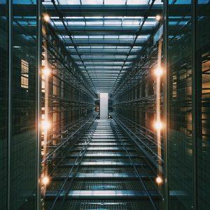 virtual data room photo of gray building