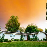 cash flow properties landscape photography of bungalow house