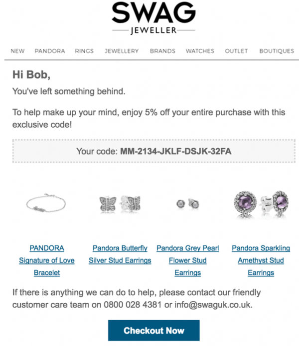 Abandoned Cart Email: What Is It and How to Retarget Shoppers? 1