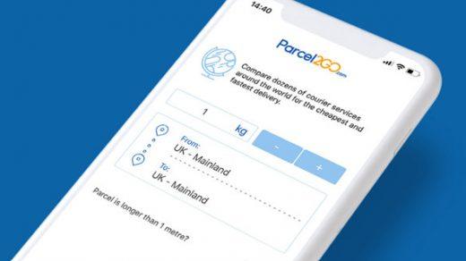 parcel2go app