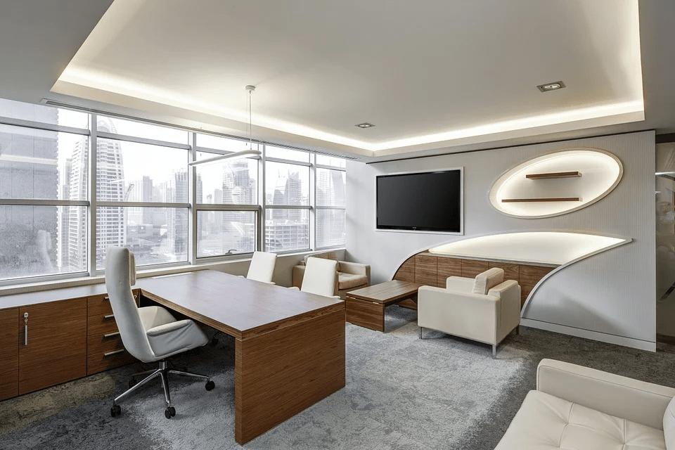 office sitting
