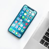 Social Media Strategy Ideas white smartphone near laptop