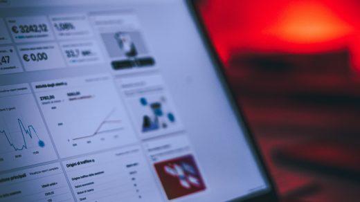 digital marketing plan turned-on MacBook Pro