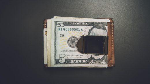 Cash-in-transit Business 5 US dollar banknote