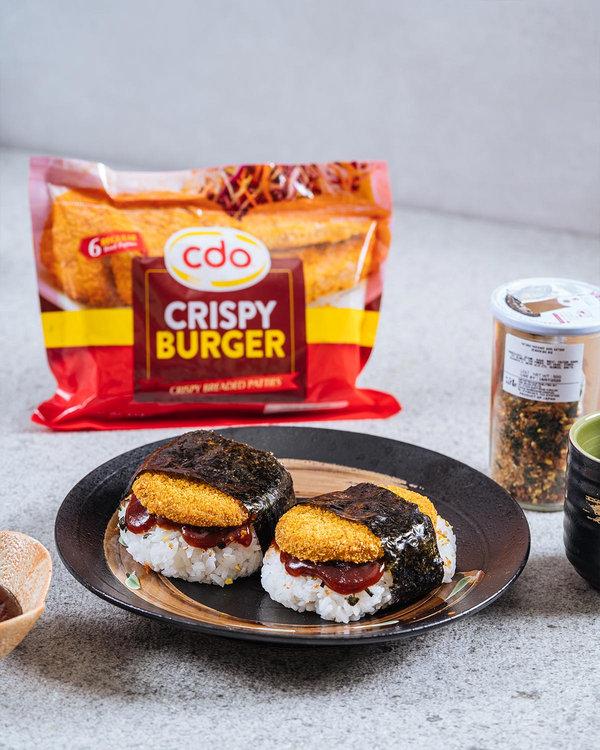 Crispy Burger Musubi