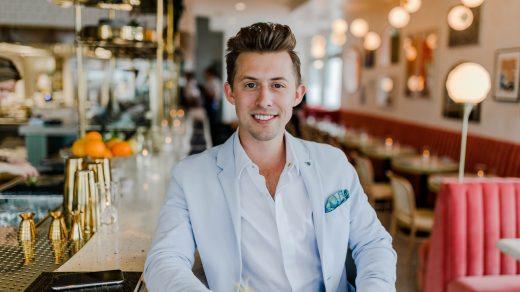 Young Entrepreneurs wearing blue coat