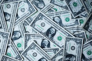 working capital 1 U.S.A dollar banknotes